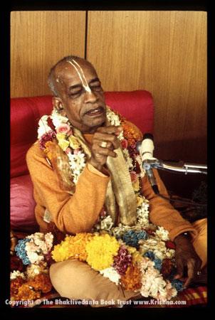 ISKCON Founder Acarya  His Divine Grace A.C. Bhaktivedanta Swami Prabhupada